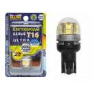 Маяк диод 10-30V T16 15SMD 2835 W2.1x 9.5d SW 360 BL