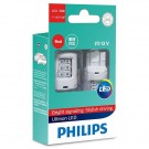 Philips W21/5W 11066ULRX2 12v LED RED (2шт)